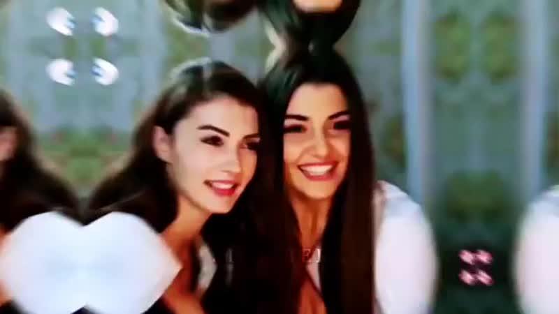 Селин и Назлы Алсел Сёстры Gunesin kizlari Дочери Гюнеш Afili ask Любовь напоказ айкер савназ