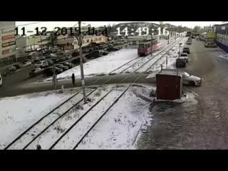 Трамвай сбил пешехода в Салавате