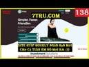 7tru | New Hyip Site Hourly - Run 0 - Min 1$ - Lãi Trong 7H