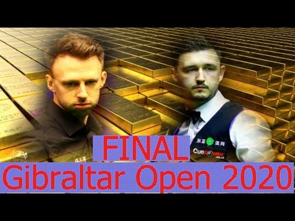 Снукер Финал Gibraltar Open 2020