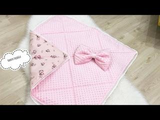 Babynest Kundak Yorgan | Dikim Videosu | Babynest Swaddle quilt Making Video
