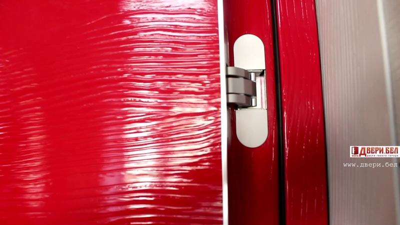 Profil Doors серии d u x z l e xn zn lk ярко краные двери из экошпона от двери бел профильдорс
