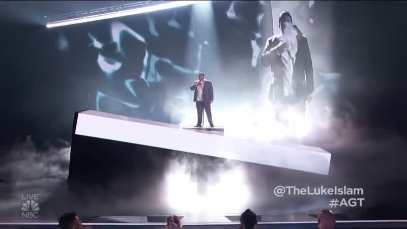 Luke Islam Juliannes Golden Buzzer SLAYS At Live show Americas Got Talent 2019
