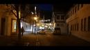 BLAUBEUREN nocą centrum przed Sylwestrem