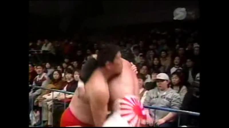 2000.03.11 - Kenta Kobashi/Mitsuharu Misawa/Tsuyoshi Kikuchi vs. Toshiaki Kawada/Akira Taue/Masanobu Fuchi