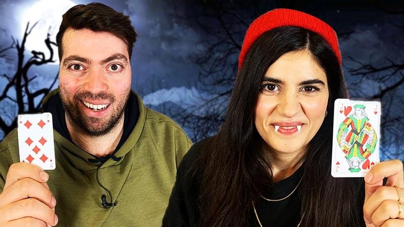Arkadaşlık Bozan Oyun Vampir Köylü Oynadık Konuk: Feride Filminin Oyuncuları
