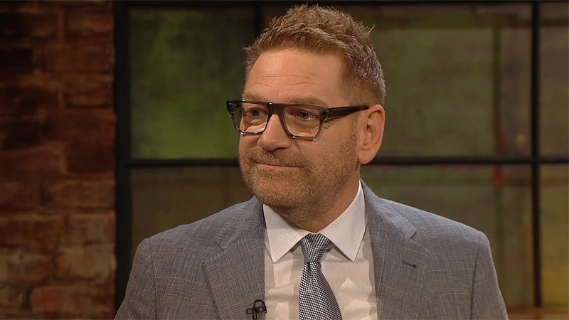 Kenneth Branagh on Albert Finney The Late Late Show RTÉ One