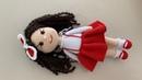 Amigurumi şirin bebek kırmızı başlıklı kız 4 Bölüm kafa ve saç yapımı