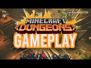 Ein neues spiel von minecraft! minecraft dungeons gameplay 4k (deutsch_german)