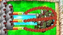 Gatling Pea vs Tall Nut vs 9999 Gargantuar Fight PVZ Hack