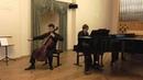 Cello Sonata Oybek Imamov Marat Mansyrev