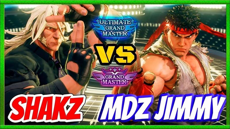 SFV CE💥 MDZ Jimmy (Ryu) VS Shakz (Zeku) Warlord💥SF5💥Messatsu💥