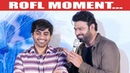 PLEASE! Don't Forget Me - Prabhas Trolls the Sahoo Director