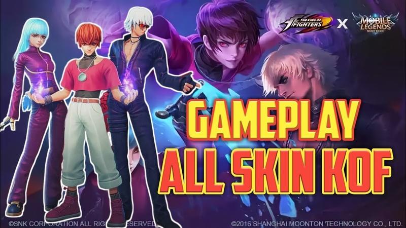 ALL Skin KOF GamePlay 2019 Mobile Lagend Full HD