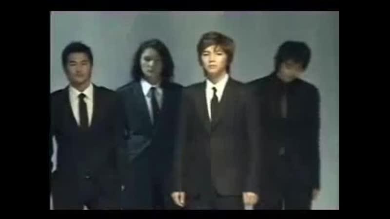 2005 11 24 Jang Geun Suk BOYO 2006 S S Fashion Show