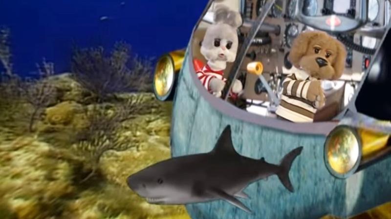 Кругосветное путешествие вместе с Хрюшей - Подводный мир - Обучающие передачи для детей