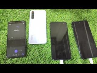 Redmi Note 9 Pro vs Realme 6 vs Poco X2 Charging Test - Biggest Charging Battle
