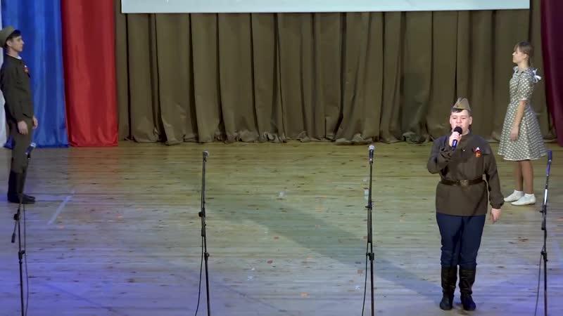 Воробьёв Евгений г Краснослободск Песня Случайный вальс Муз М Фрадкина Сл Е Долматовского Номинация солист