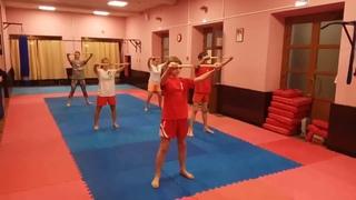 Тренировка с нунчаку #8 - ката и немного спарринга
