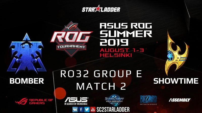 2019 Assembly Summer Ro32 Group E Match 2: Bomber (T) vs ShoWTimE (P)