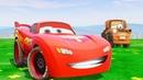 Мультики про Машинки Маквин Тачки 3 Гонки Мэтр Детские Песенки Цветные Машинки cars for kids