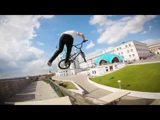 BMX в Казанском кремле