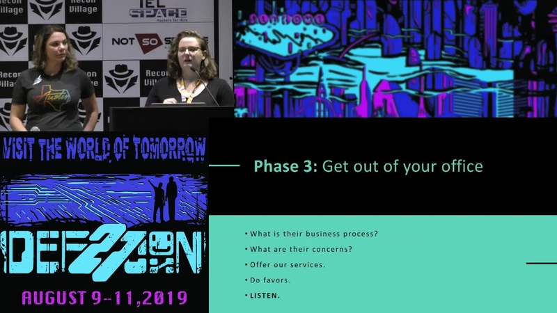 DEF CON 27 Recon Village - Kala Kinyon - Use Responsibly Recon Like an insider threat for Best User