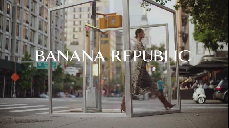 Cамые актуальные новинки сезонного гардероба для женщин и мужчин большого города уже в магазинах Banana Republic