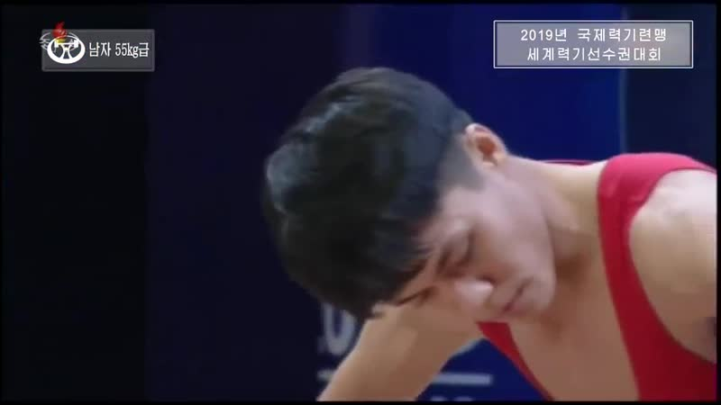 2019년 국제력기련맹 세계력기선수권대회중에서 -남자 67kg급, 55kg급-