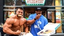 10,000 CALORIE EPIC CHEAT MEAL 🍩 🍔 🍦 | Regan Grimes and Juan Morel