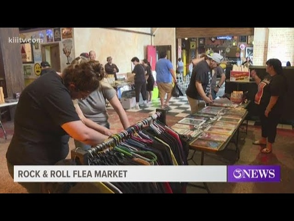 Rock and Roll lovers gathered at House of Rock for unconventional flea market