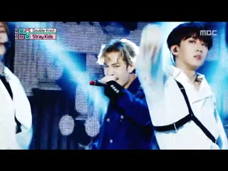 [on stage] 191012 stray kids double knot @ show music core