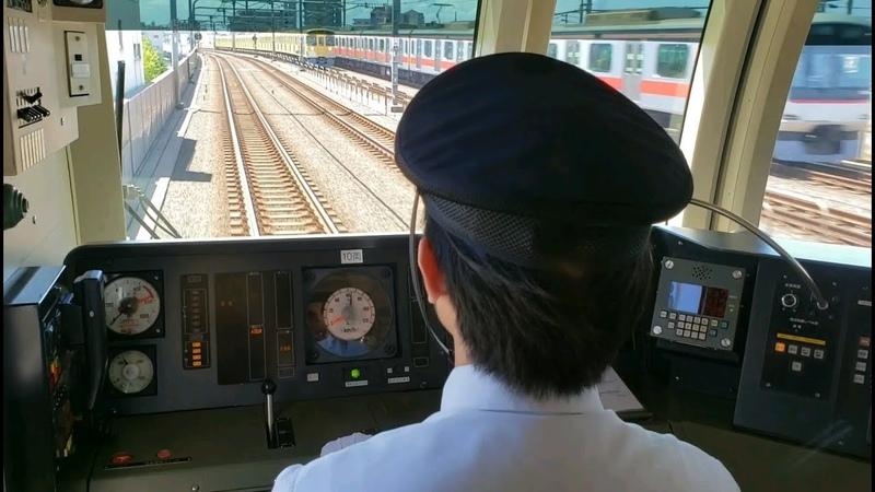 【メトロ10000系】西武池袋線Fライナー練馬→所沢前面展望と運転士動作