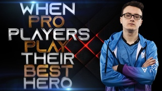 When Pro Players Play Their BEST Hero - Ar1se Magnus, Miracle Shadow Fiend, Dendi Pudge