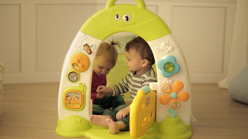 Детская палатка домик Smoby Cotoons развивающая