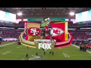 Nfl 2019-2020 / super bowl liv / 49ers vs chiefs