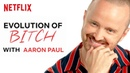 The History of Jesse Saying Bitch in Breaking Bad with Aaron Paul | Netflix