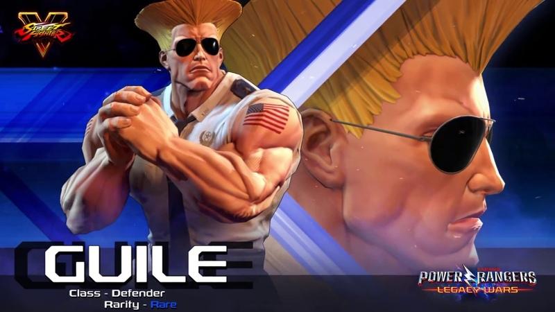 Power Rangers Legacy Wars Street Fighter Guile Moveset