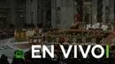 EN VIVO Misa de nochebuena en el Vaticano