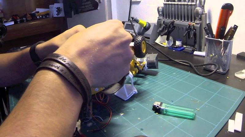 Revell Radlader Umbau Teil 6 Akku und Elektronik Siku Control Full HD