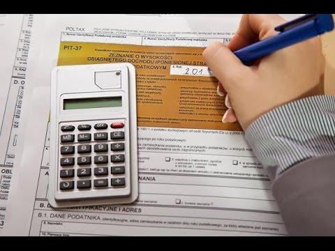 Польша Как самостоятельно заполнить налоговую декларацию PIT 37 На основе PIT 11