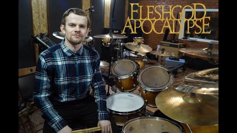 Fleshgod Apocalypse - Fury (Drum cover by Mike Ponomarev)