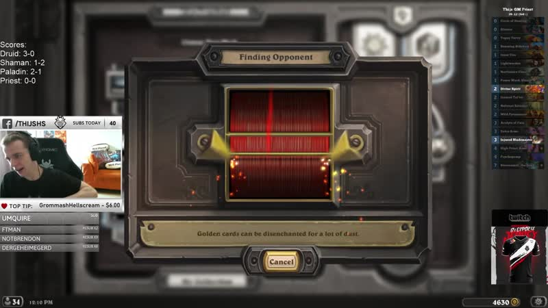 Thijs Hearthstone Does He SERIOUSLY Play THAT In Duel Pally