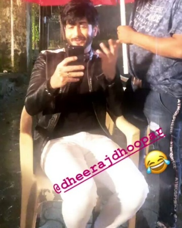 PreeRan❤ Mr Mrs Karan Luthra on Instagram Karan is shooting Preeta Where is Karan's Wedding outfit @dheerajdhoopar @sarya12 KundaliBhagya