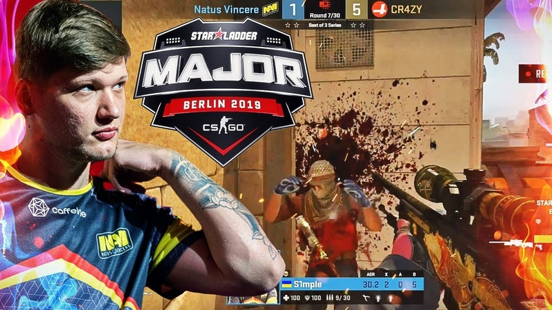 ЛУЧШИЕ МОМЕНТЫ CS:GO StarLadder Berlin Major - №2