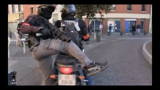 Gilets Jaunes Acte 20 - La Chevauchée de la BAC, Toulouse