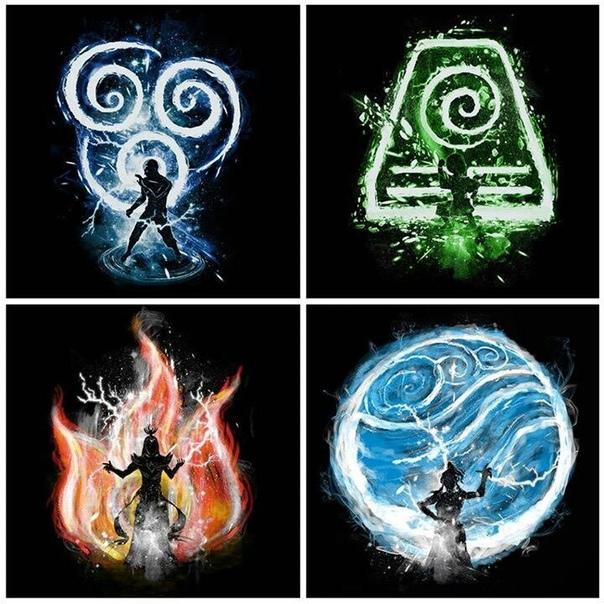 картинки символами огонь и вода священный