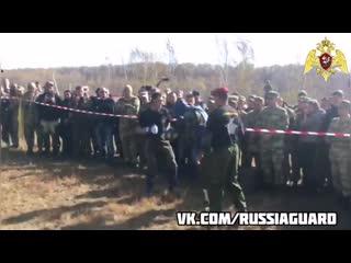 В Хабаровске при сдаче экзамена на краповый берет умер боец Росгвардии