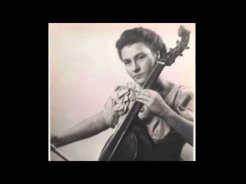 Eva Heinitz viole de gambe Marin Marais Prélude en re mineur