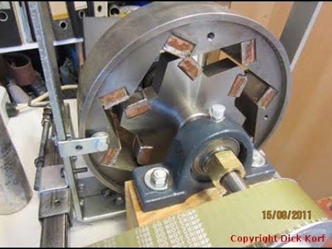 Изобретатель вечного двигателя из Узбекистана. Очень редкое видео.